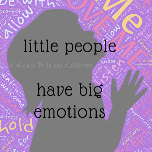 little people have big emotions