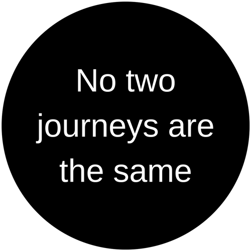 No two journeys are the same