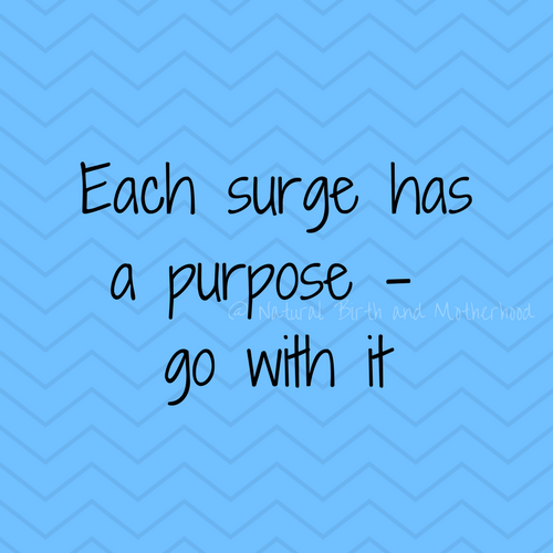 Each suge has a purpose - go with it